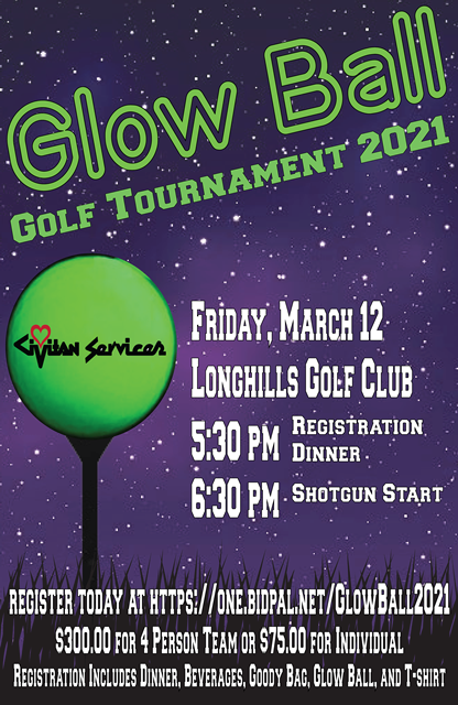 Glow Ball Golf Tournament 2021 Copy