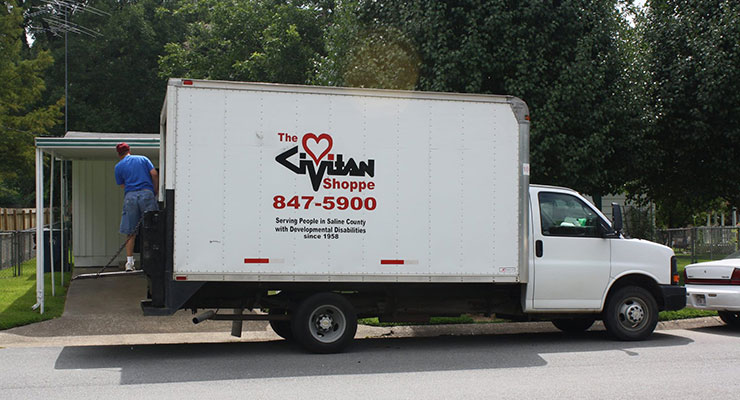 civitan services shoppe truck
